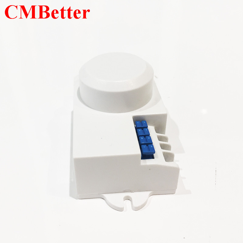Professional microwave motion sensor 220~240V AC 50HZ 360 Degree Microwave Smart Motion Body Movement Infrared IR Sensor Switch  (22)