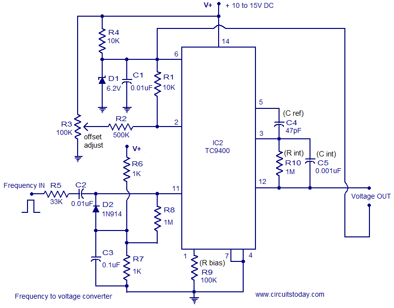 frequency voltage converter
