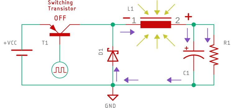 Buck Converter Circuit Working