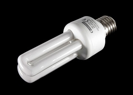 The tubular-type compact fluorescent lamp is one of the most popular types in Europe