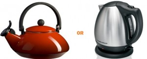 Stove and Electric Kettles