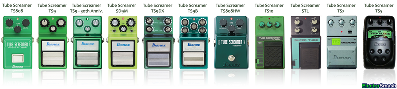Tube Screamer All Pedals