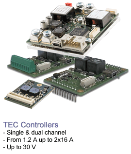 TEC Controller Products